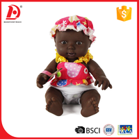 10 Inch black silicone reborn baby dolls for kids