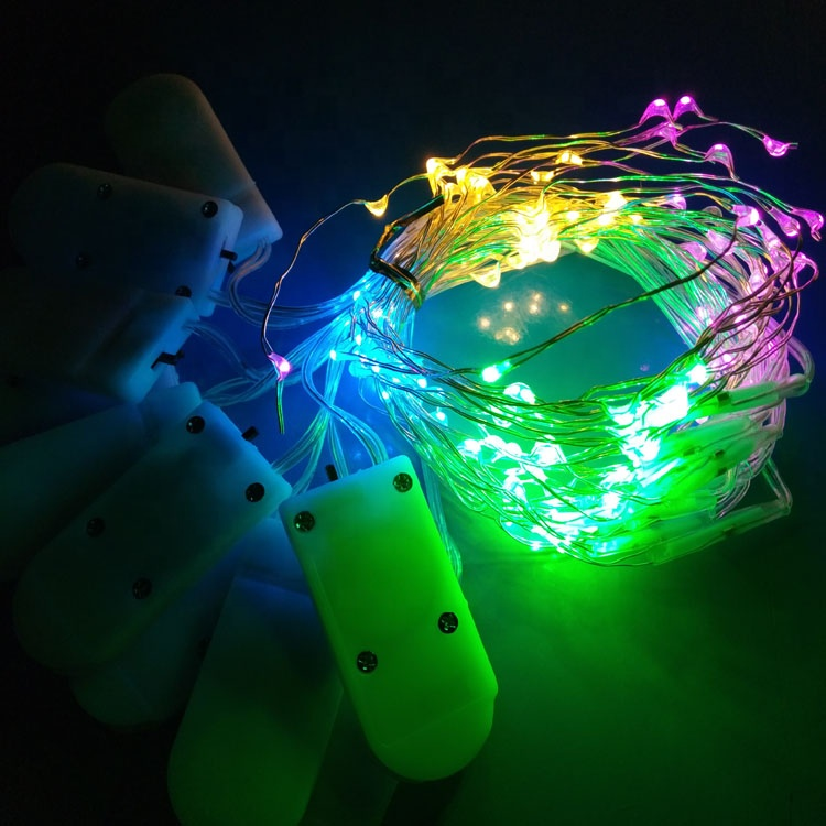 0.6M 12 <strong>Led</strong> Outside Christmas Lights For Flowers Wedding Decoration