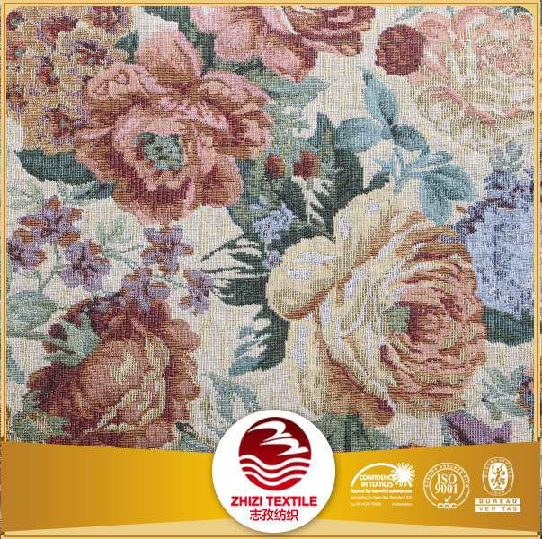 Fashion fabrics supplier Shaoxing supplier Woven Poly cotton fabric textile for sofa