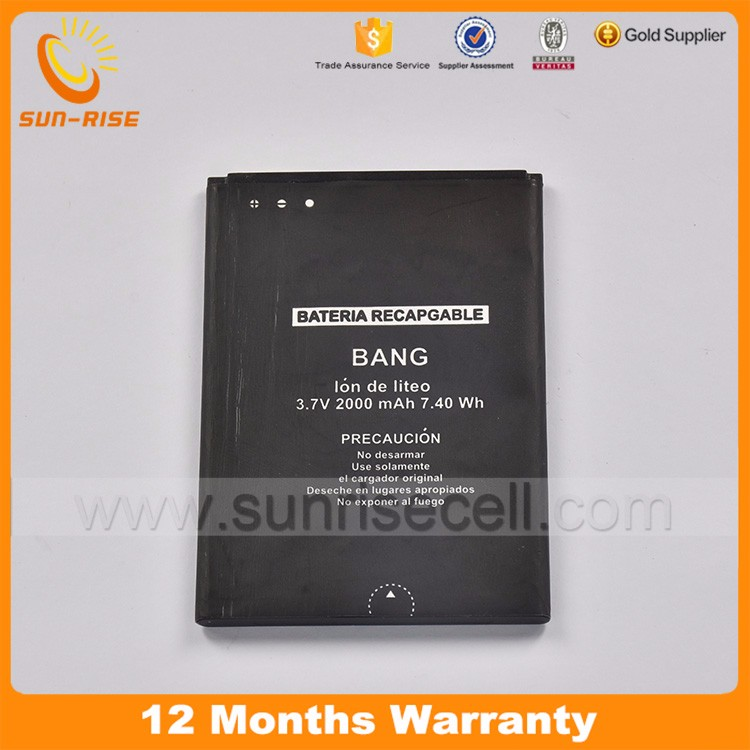 Original 2000Mah Battery For Sentel Bang