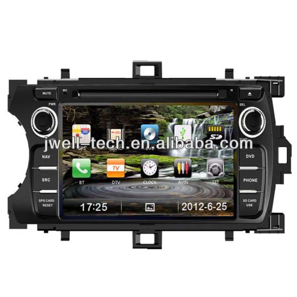 autoradio gps system rds 3g for toyota yaris dvd