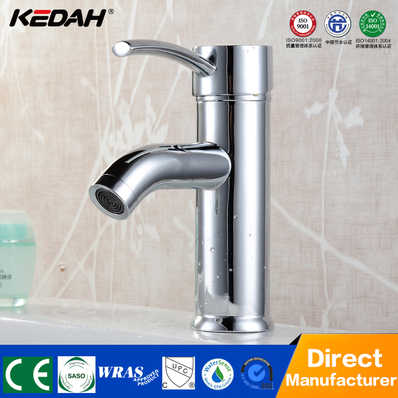 Cheap deck mounted single handle single hole bathroom wash basin mixer tap models