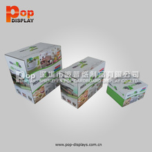 Hot Sale bottle Cardboard Carry Box with Handles