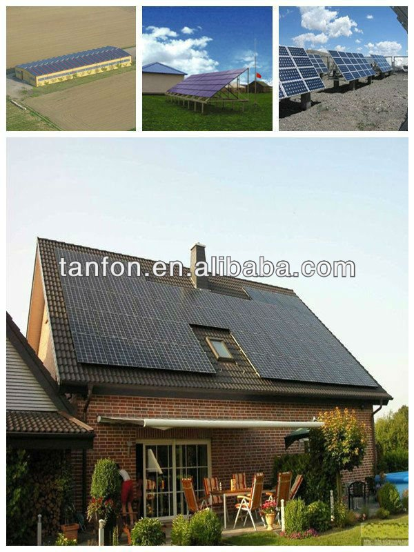 wind turbine and solar panel hybrid system 1000w Solar System With Roof Rack portable 300w solar power generator system