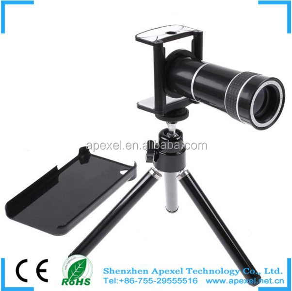 Digital camera 10X Zoom telescope lens for mobile phone with tripod for galaxy grand i9082 CL-3-5