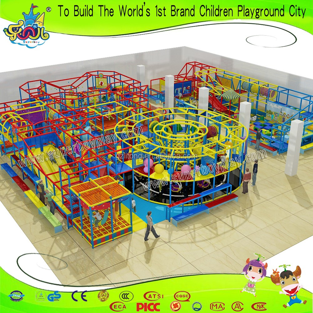 Factory Price Candy Toy Style Soft Padded Indoor Child Playground Equipment