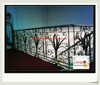 top-selling wrought iron handrail stanchions