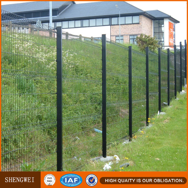 welded wire mesh fence panel,galvanized welded wire fence panels