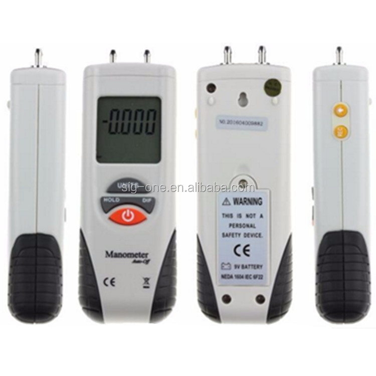 Professional manufacturer 75.00 psi pressure manometer gauge