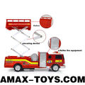 rfe-119236 rc fire engine 4ch lifelike remote control toys fire engine for kids