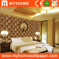 New design non woven high quality 3d effect wallpaper guagnzhou glitter wallpaper