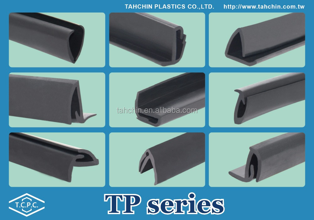 Taiwan direct high quality office chair seat protective rubber edging strip