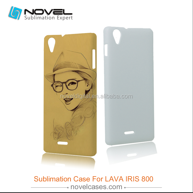 Best Seller 3D Sublimation Phone Case Cover for LAVA IRIS 800,DIY Phone Case Cover