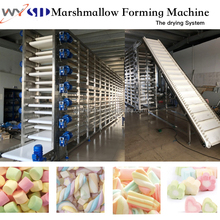 Full automatic Extruded marshmallow cotton candy making machine line