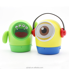 Cartoon Mini USB Wireless Bluetooth Speaker with Ce (ED-10)