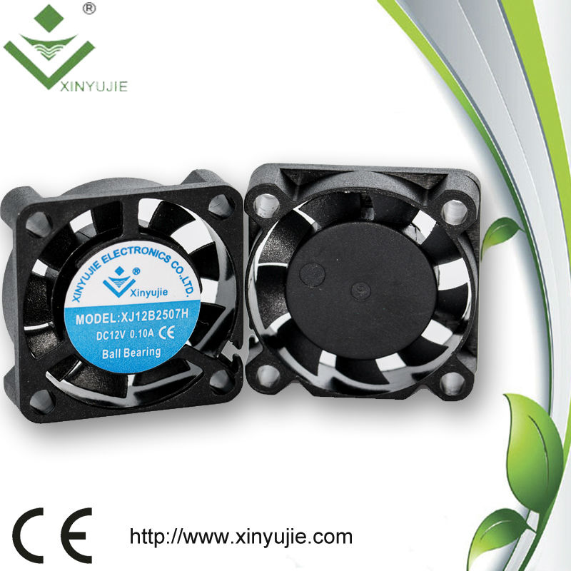 Computer case application 25*25*07mm bladeless dc fan 9000rpm plastic mini hand dc fan