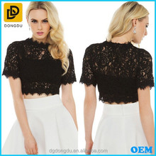 OEM /ODM Wholesale Cheap High Quality Lace Tops For Girls And Women