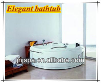 Single person elegant spa bath,acrylic massage bathtubs, portable jacuzzi indoor JNJ SPA-085