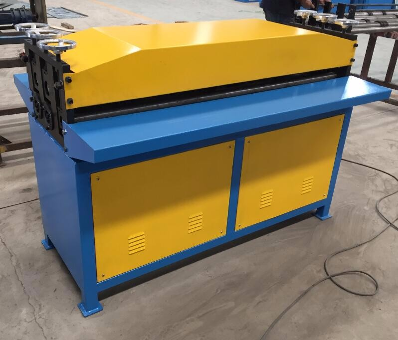 Low Cost air duct sheet grooving machine,ventilation duct beader machine,metal sheet beading