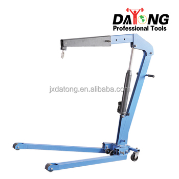 1 Ton Capacity Foldable small Shop Crane