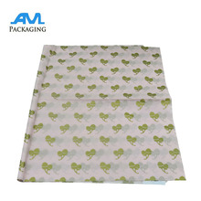 custom printed logo gift silk tissue paper/waterproof packaging brand paper