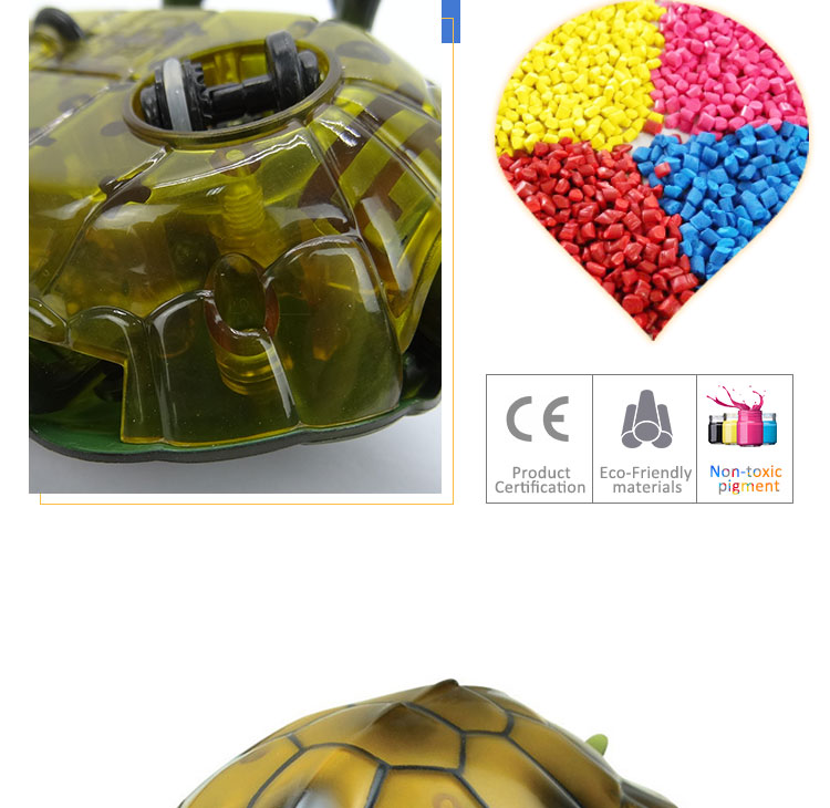 Lovely remote control toy turtle for kids on sale