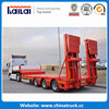 Heavy Equipment Transport 3 Axles Low