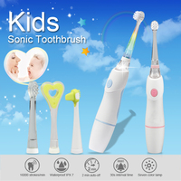 LED Baby /KIDS sonic ELECTRIC Toothbrush SG976