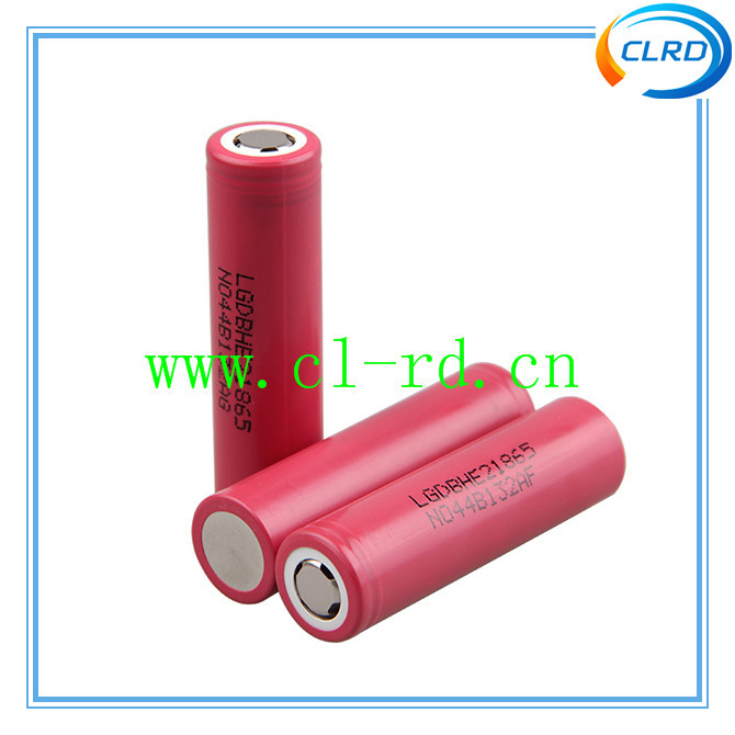lg icr18650 he2 cylinderical cordless drill battery
