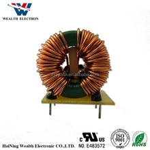 T31*19*13 12mH High frequency toroidal magnetic inductor coil variable common mode choke coil Manufacturer With RoHs UL