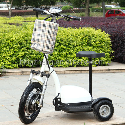 adult electric 3 wheel scooters/zappy 3 electric scooter/mobility scooter for elderly