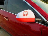 Brand new car side mirror cover flag sock with high quality