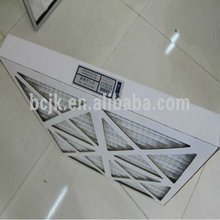 G3 , G4 fiber glass air intake Panel Filter with carboard- Pre filter material for ventilation