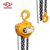 1 2 3 ton manual chain pulley block