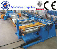 Slitter machine for cutting steel sheet coil