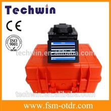 Techwin highly integrated OTDR TW2100E and Fusion Splicer TCW-605 for Fiber Optic Cable