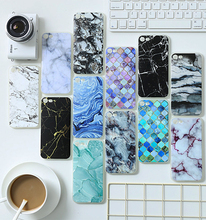 Hot selling 2017 amazon simulation marble phone case for iphone 7 plus case ultra thin