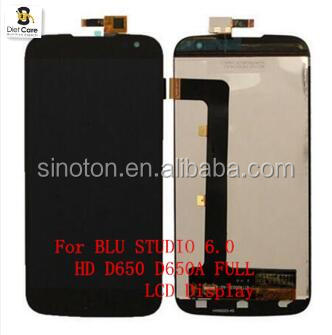 For Blu Studio 6.0 HD D650 D650a LCD with Touch Screen Digitizer Assembly