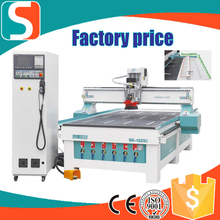 1325 CNC Router with Linear ATC/Woodworking Machinery CE tool magazine capacity of 6 or 8 tools HOT!!!