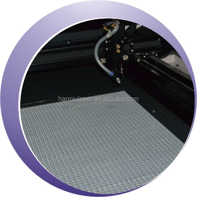Mini 9060 honeycomb table CO2 laser cutting machine for fabric clothing