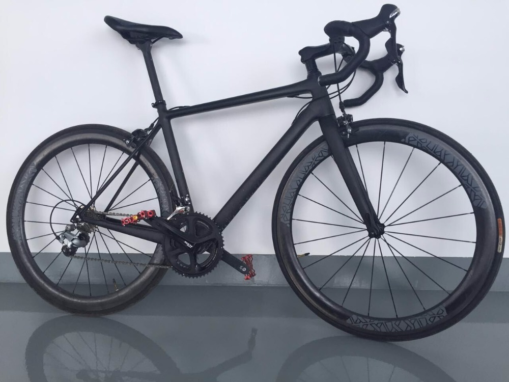 Complete 700C road bike UD full carbon 7.5kG bicycle 2*11 speed with Ultegra Group Set 6800 racing aero road wheels for sale