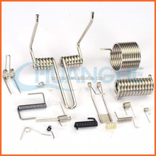 China supplier high temperature double coil torsion spring