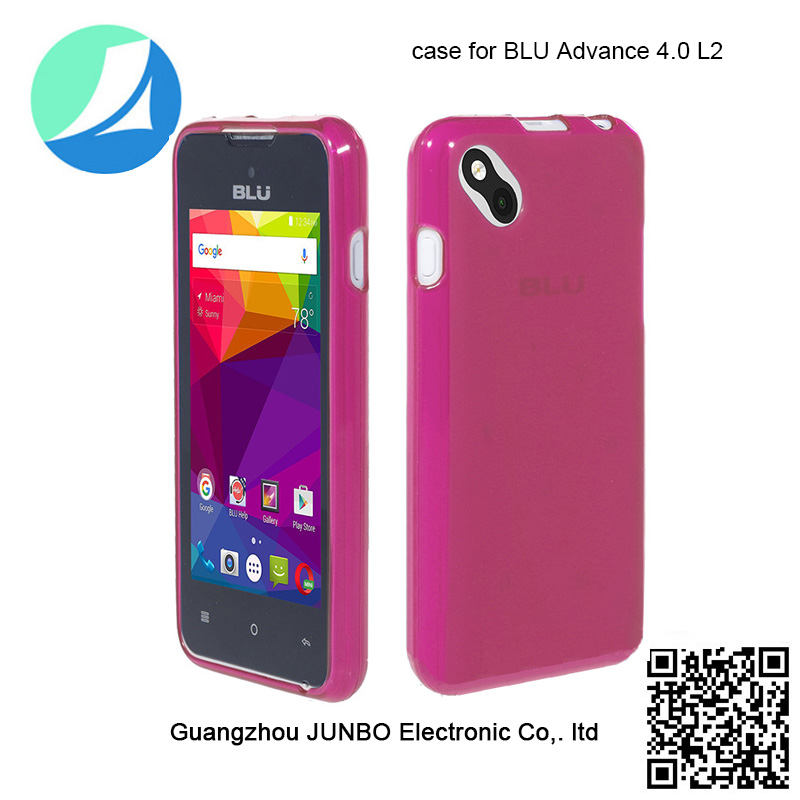 Promotion!! JUNBO shockproof anti-dust clear soft TPU mobile phone case for Blu Advance 4.0 <strong>L2</strong>