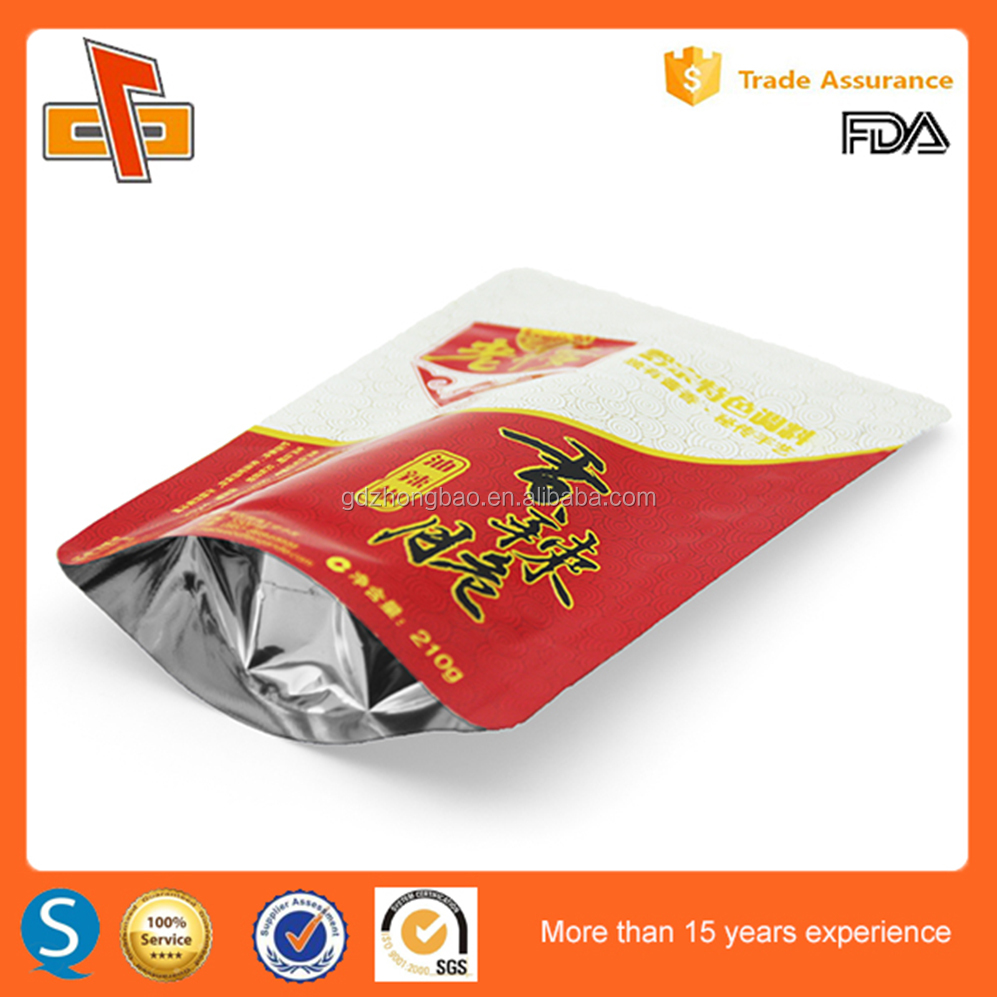 Alibaba China Supplier New Product Laminated Food Package Custom Printed Stand Up aluminum foil Coffee Bag With Factory Price