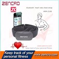 Fitness Exercise Calorie Endomondo App Bluetooth 4.0 Heart Rate Monitor Chest Belt With GPS