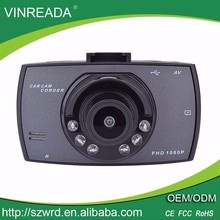 Factory Price Dual Camera Car Dash Cam Car Dashboard Camera Front and Back View Car Camera Full HD 1080P