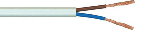 H05VVH2-F FLAT TWIN CABLE 2 Cores Copper Conductor PVC Insulated and PVC Sheathed Flexible wire