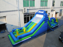 jumbo water slide inflatable / used inflatable water slide for sale