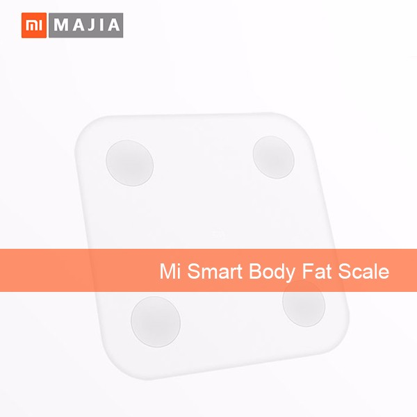 Original Xiaomi Scale Mi Smart Health Weighing MiScale Electronics Bluetooth4.0 Lose Weight Digital Scale White