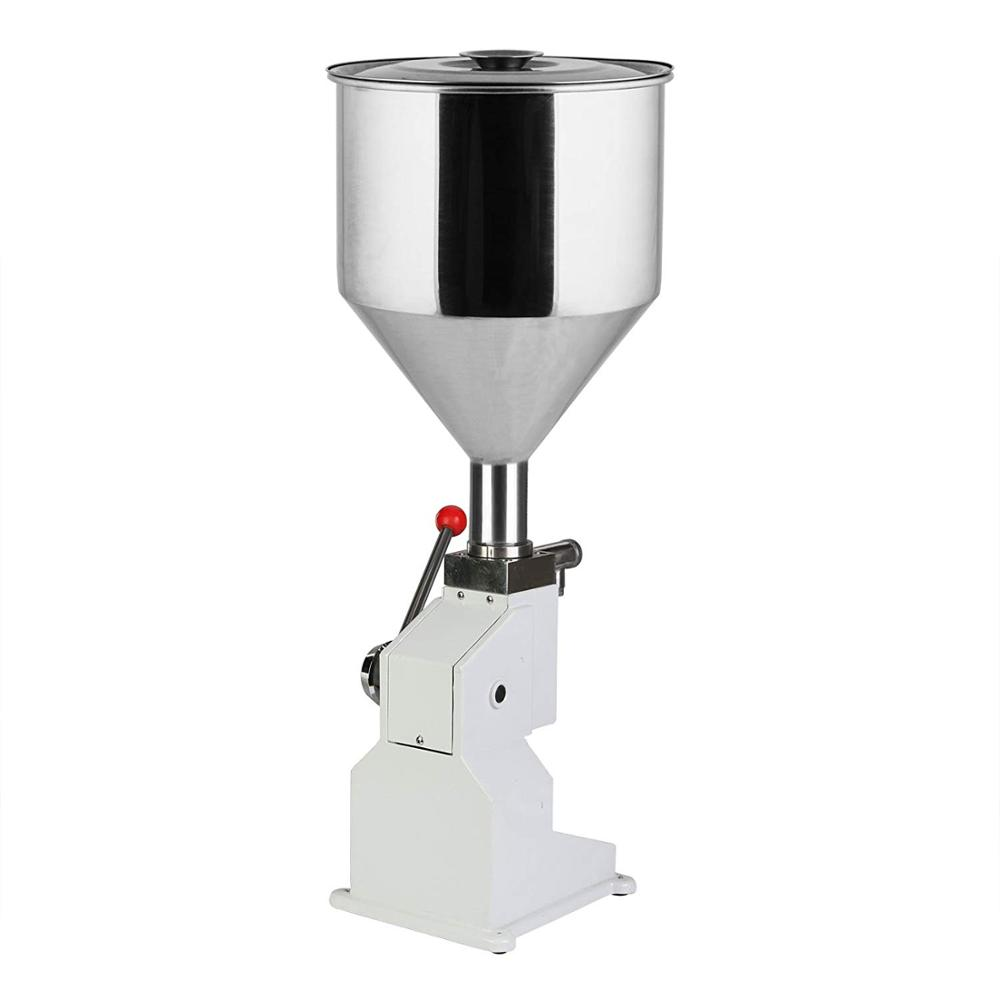 <strong>a03</strong> Manual cream Filling Machine for cosmetic paste oil ice and liquid 0~50ml For Cream &amp; Shampoo &amp; Cosmetic